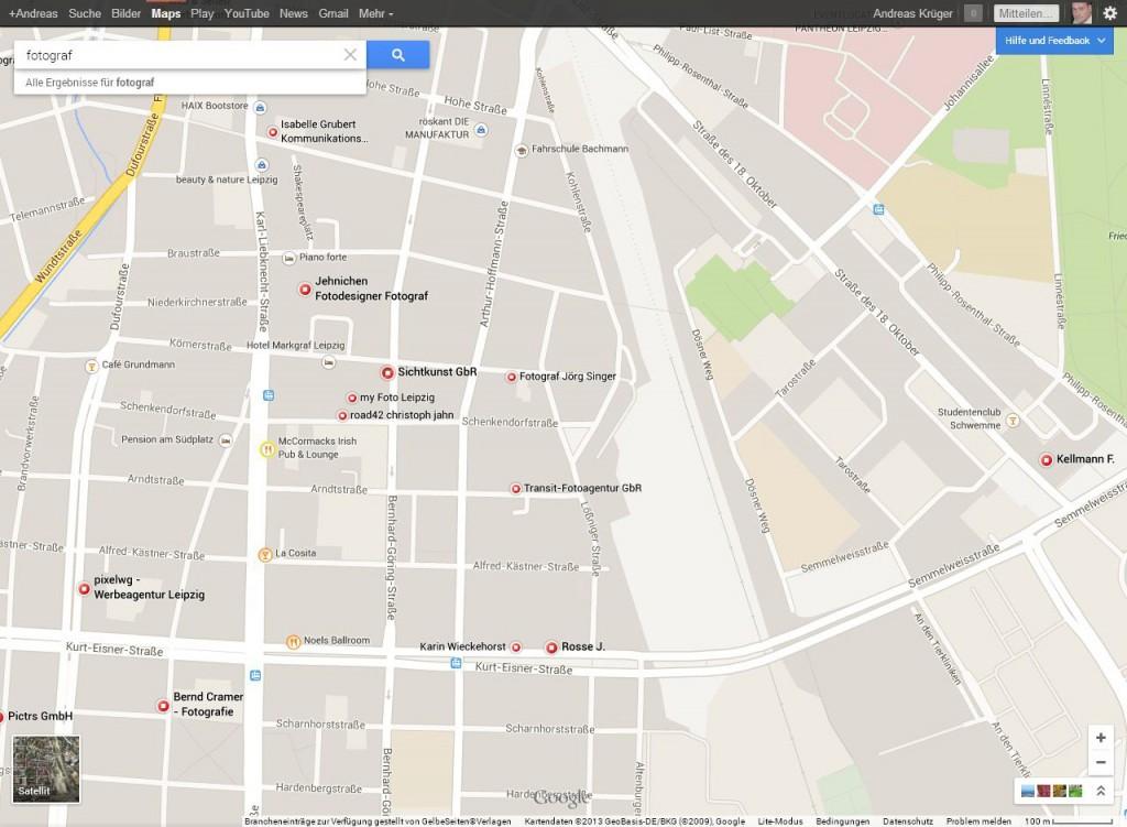 google-maps-suche