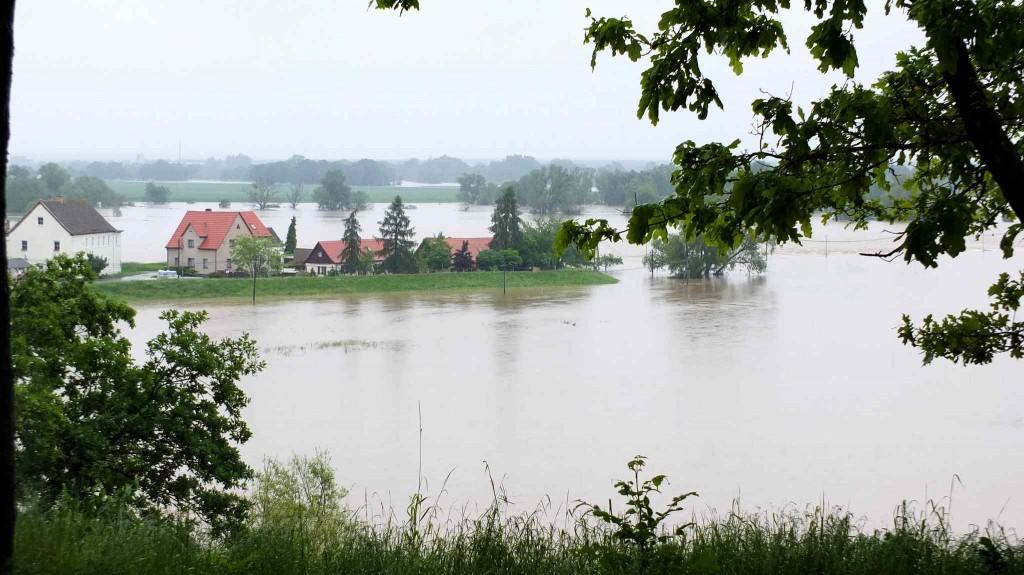 Gruna an der Mulde – Hochwasser 2013